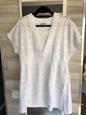 C&A Short Sleeve Knitted Jacket white