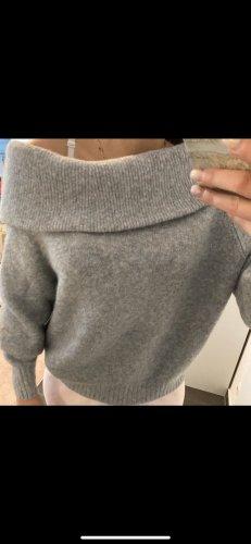HM Pullover in cashmere grigio chiaro