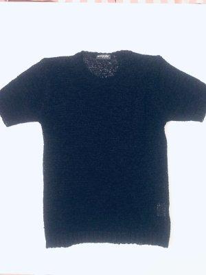 Koszulka z dzianiny czarny
