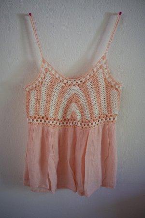 Crochet Top light pink