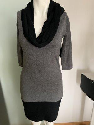 Miss Sixty Vestido elástico negro-gris