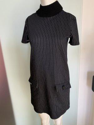 Zara Robe pull noir-blanc