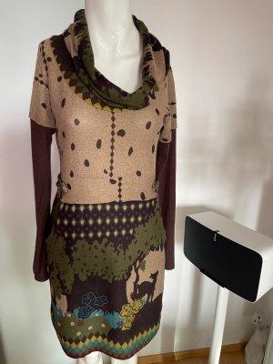 Strick Optik Kleid Von Smash Gr 38 40 L