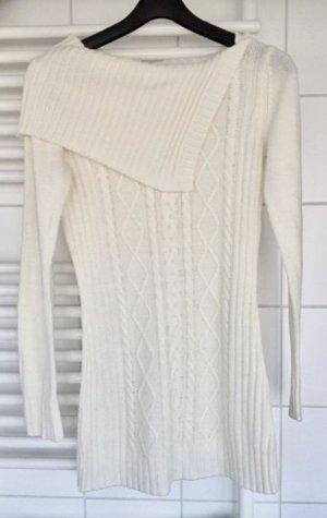 Strick- Puli Tunika   Italy Fashion Wolle 90% /Cashemire 10% Gr. 36-38