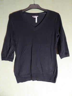Esprit Koszulka z dzianiny czarny