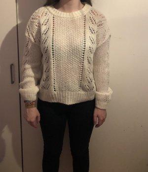 C&A Maglione lavorato a maglia bianco-bianco sporco