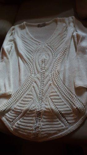 Tredy Koszulka z dzianiny w kolorze białej wełny