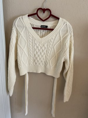 Tally Weijl Knitted Sweater natural white