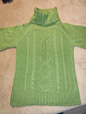 Blind Date Fine Knitted Cardigan green