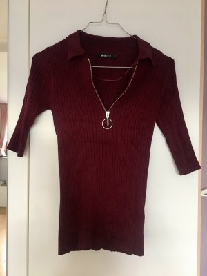 Strick Pullover rot