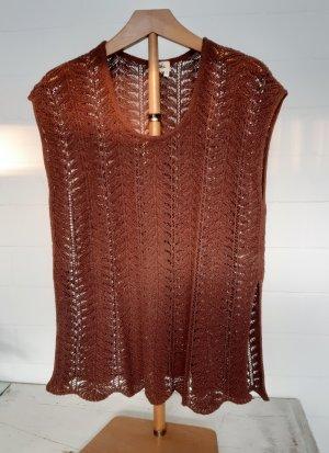 Poools T-shirts en mailles tricotées brun