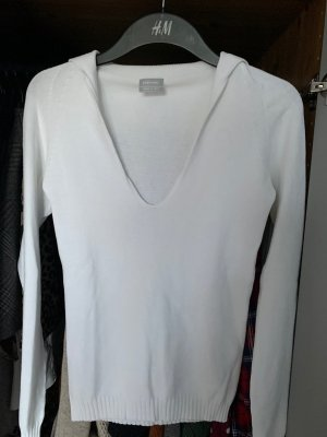 Stefanel Knitted Sweater white viscose