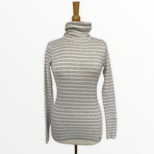 Strick Pullover Tom Tailor Streifen Gr XS