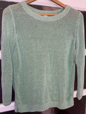 Club Monaco Knitted Sweater mint-white