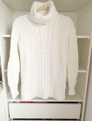 Gap Maglione dolcevita bianco