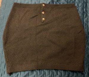 keine Jupe tricotée gris foncé