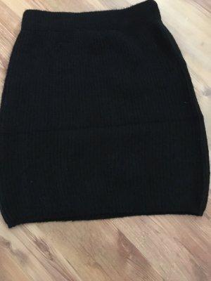 Faina Falda de lana negro