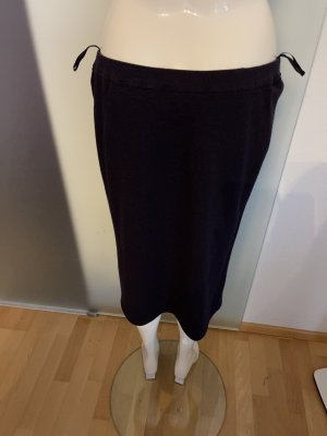 Attitude Pencil Skirt dark blue