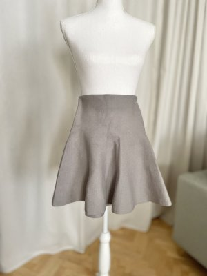 Noisy May Knitted Skirt light grey-grey