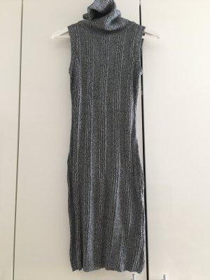 AJC Abito di maglia grigio scuro-bianco