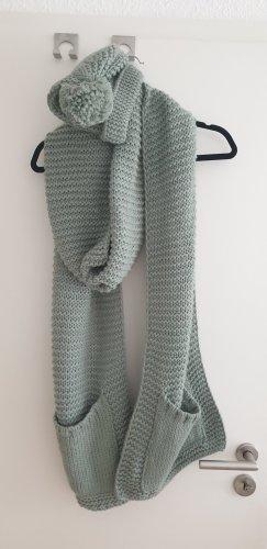Six Écharpe en tricot multicolore