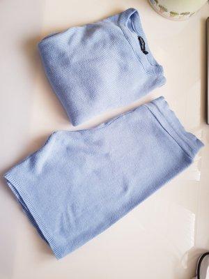 Boohoo Ensemble en tricot bleu azur