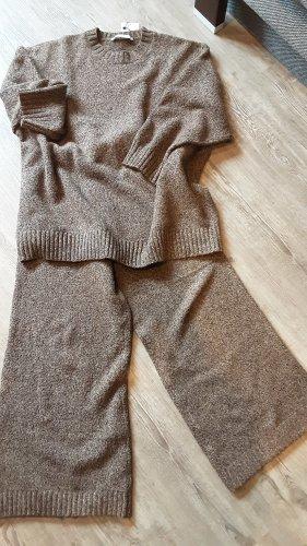 Zara Ensemble en tricot brun