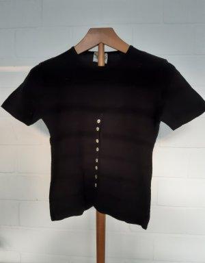 T-shirts en mailles tricotées noir