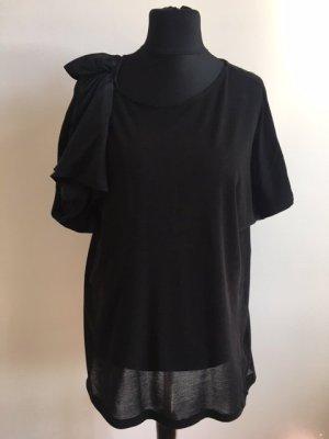 COS Blouse à manches courtes noir coton