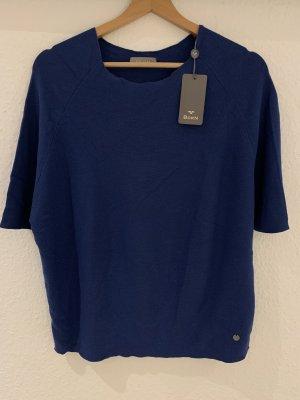 BORN Jersey de manga corta azul Viscosa