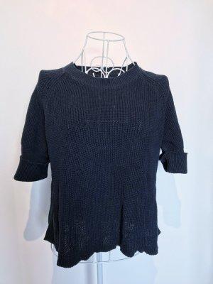 Woolrich Camisa tejida azul oscuro