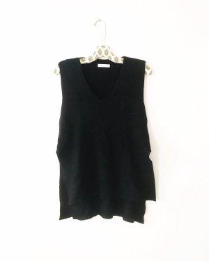 Vintage Gebreide top zwart
