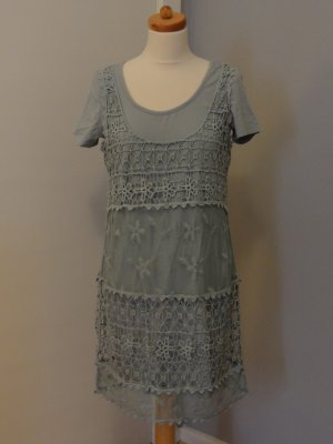 °°°Strick-Tunika, Nature-Sommerkleid, Strickkleid, M, Neu°°°