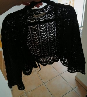 H&M Trend Knitted Bolero black