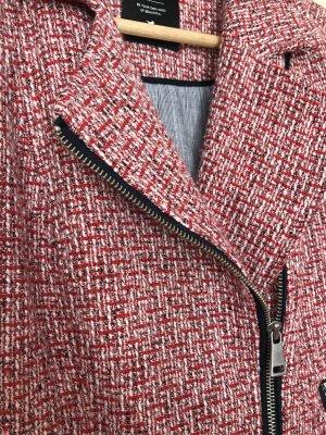 Zero Knitted Blazer carmine cotton