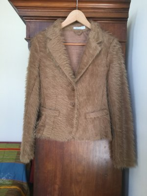 Imperial Knitted Blazer camel viscose