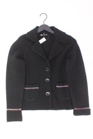 Knitted Blazer black wool