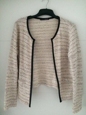 Strickblazer hellbeige Gr. 38 *NEU* Atmosphere