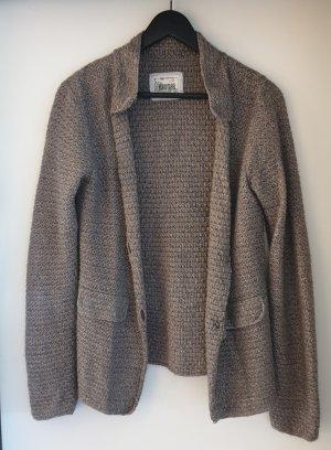 Biaumax Knitted Blazer grey brown