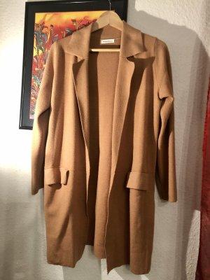 Vintage Dressing Knitted Blazer camel-beige