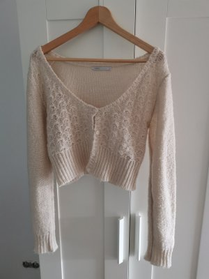 Only Knitted Bolero cream