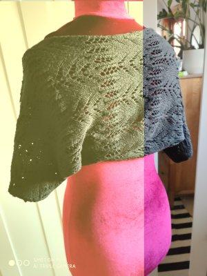 Zara Bolero lavorato a maglia nero