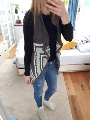 Strickcardigan mit Muster