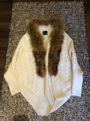 Strickcardigan Pelz/Fell/Fur