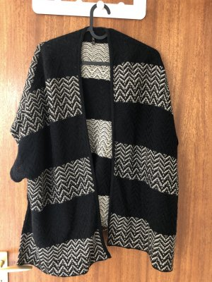 Stradivarius Knitted Poncho multicolored