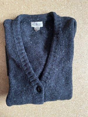Denim & Supply Ralph Lauren Coarse Knitted Jacket anthracite-white