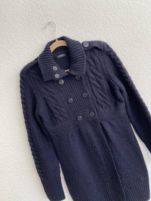 ATTESA Maternity Cardigan tricotés bleu foncé