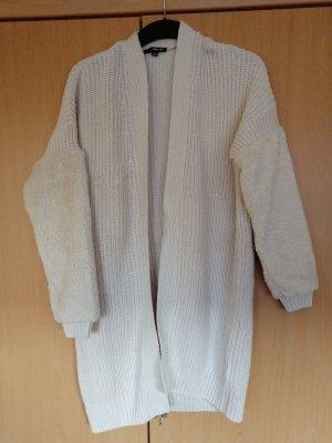 Tally Weijl Veste tricotée en grosses mailles blanc cassé