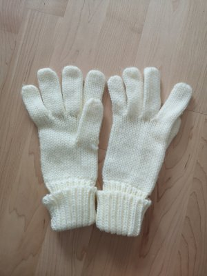 Blue Motion Knitted Gloves natural white-oatmeal