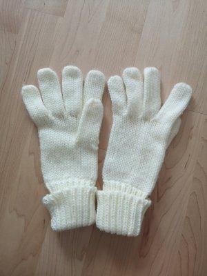 Blue Motion Gebreide handschoenen wolwit-licht beige